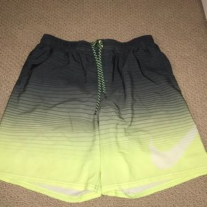 Nike swim trunks-Xl